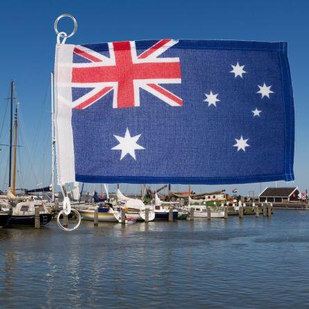 Fanion pour bateau Australie Superflag® 20x30 cm