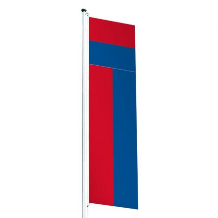 Knatterfahne Kanton Tessin Superflag® 80x300 cm