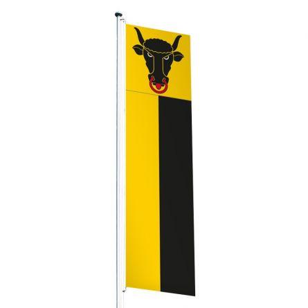 Knatterfahne Kanton Uri Superflag® 80x300 cm