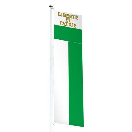 Knatterfahne Kanton Waadt Superflag® 80x300 cm