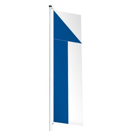 Drapeau crépitant canton Zurich  Superflag® 80x300 cm