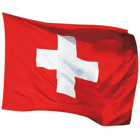Posterfahne Schweiz Tricopolyester 100x140 cm