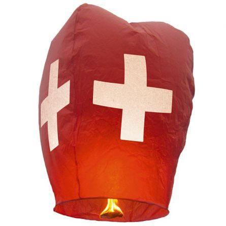 Schwebelaterne Schweiz 2er Set