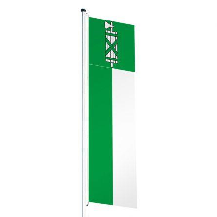 Drapeaux crépitant canton Saint-Gall Superflag® 80x300 cm