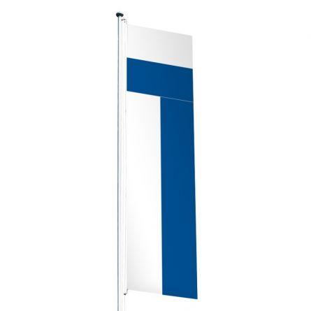 Drapeau crépitant canton Lucerne Superflag® 80x300 cm