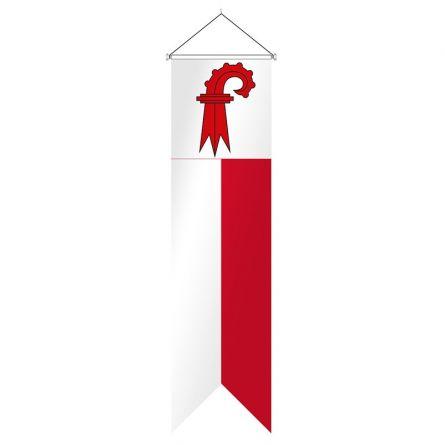 Oriflamme canton Bâle-Campagne complet Superflag® 80x300 cm