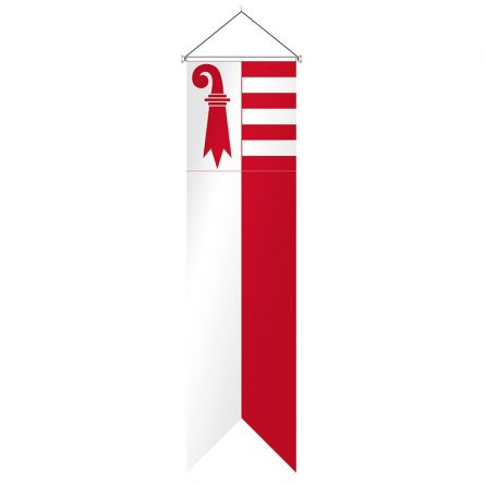 Flagge Kanton Jura Komplett Superflag® 80x300 cm