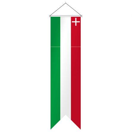 Oriflamme Canton Neuchâtel complet Superflag® 80x300 cm
