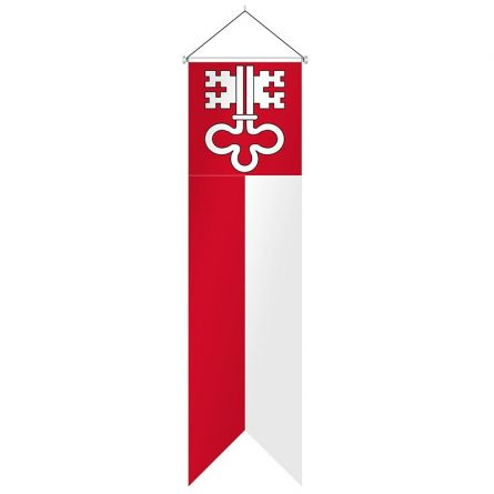 Oriflamme canton Nidwald complet Superflag® 80x300 cm