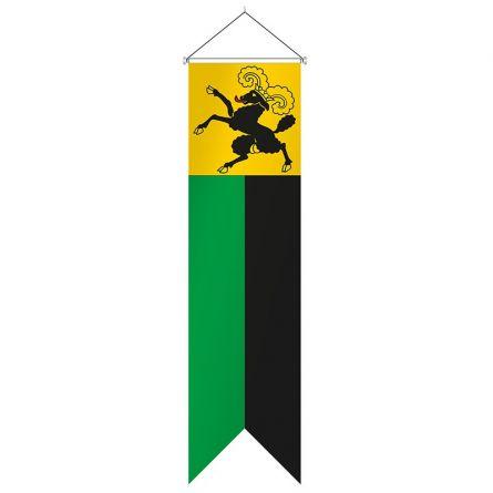 Flagge Kanton Schaffhausen Komplett Superflag® 80x300 cm