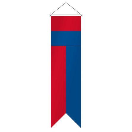 Flagge Kanton Tessin Komplett Superflag® 80x300 cm