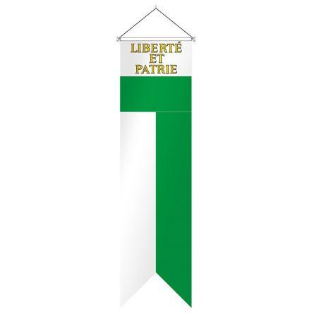 Flagge Kanton Waadt Komplett Superflag® 80x300 cm