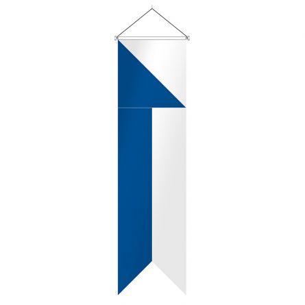 Oriflamme canton Zurich complet Superflag® 80x400 cm