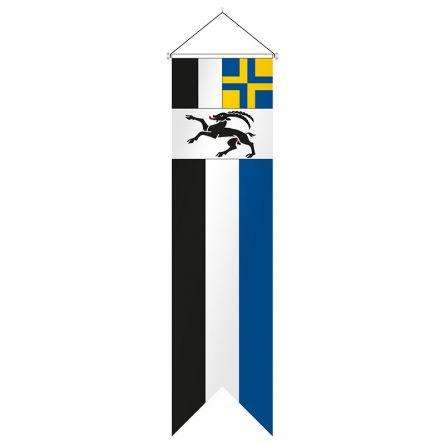 Flagge Kanton Graubünden Komplett Superflag® 80x300 cm