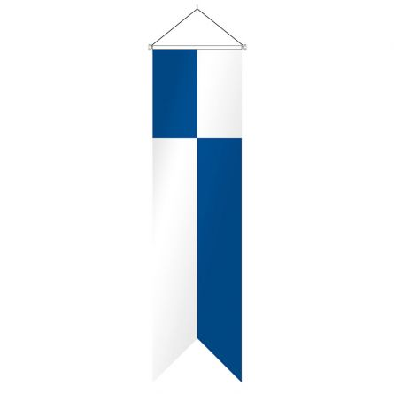 Oriflamme canton  Lucerne complet Superflag® 80x300 cm