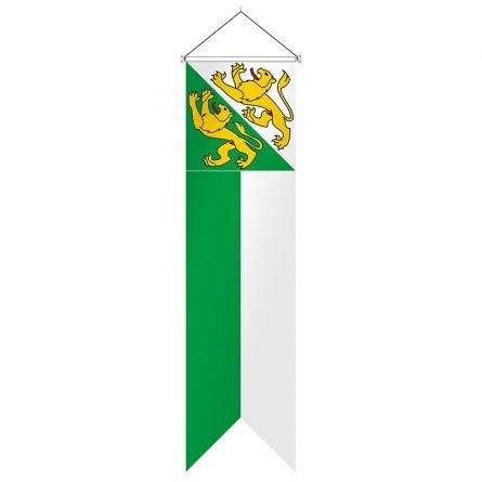 Flagge Kanton Thurgau Komplett Superflag® 80x300 cm