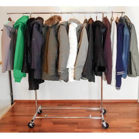Porte-vêtements lourds pliable «Drogo»