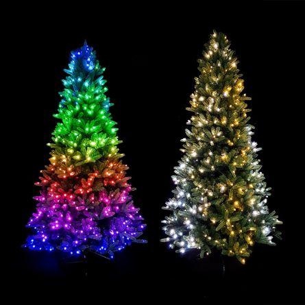 Sapin décoré avec 500 LED, 2,5 m