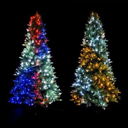 Sapin décoré avec 400 LED, 1,8 m