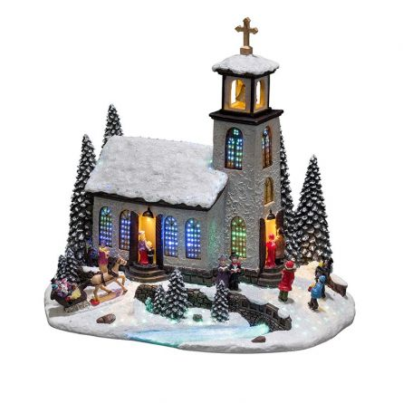 LED Szenerie «Kirche»