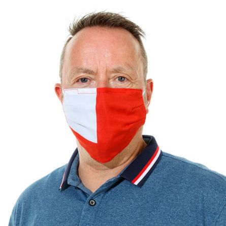 Stoffmaske «Swiss Flag»