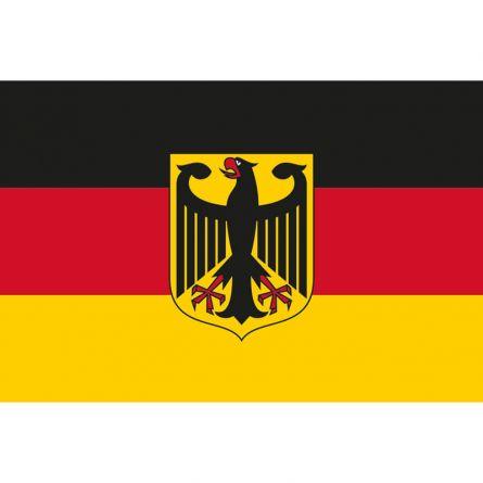 Drapeau national Allemagne avec symbole