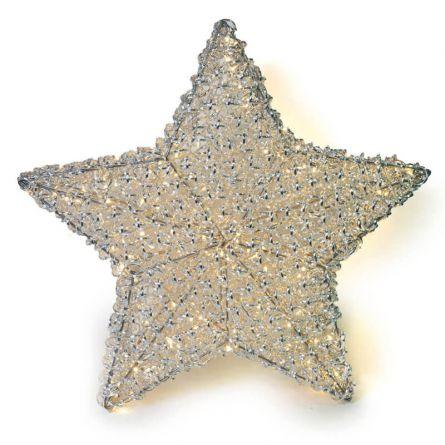 Étoile métallique LED «Leonis» ø 80 cm