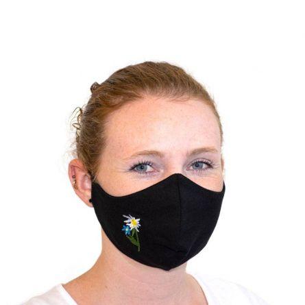 Stoffmaske «Enzian»