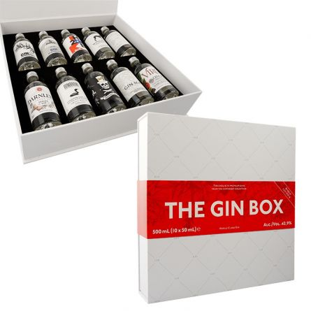 The Gin Box, 10×5 cl, 42% Vol.
