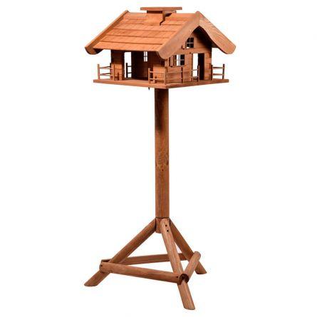 Maison-mangeoire pour oiseaux «Chalet alpin»
