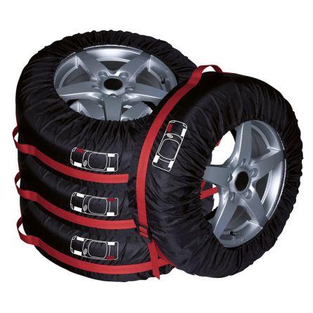 Housse de protection pour pneus, set de 4