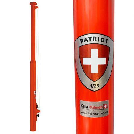 Fahnenmast «Patriot Edition» Aluminium 8 m
