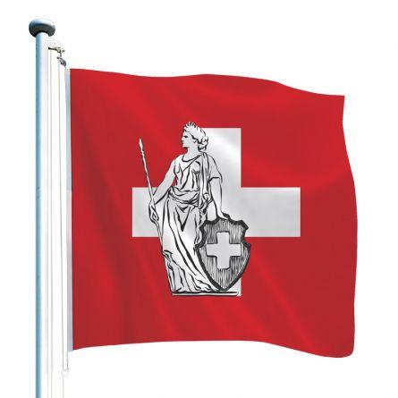 Schweizerfahne «Helvetia»