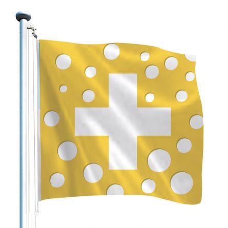 Schweizerfahne «Käse»