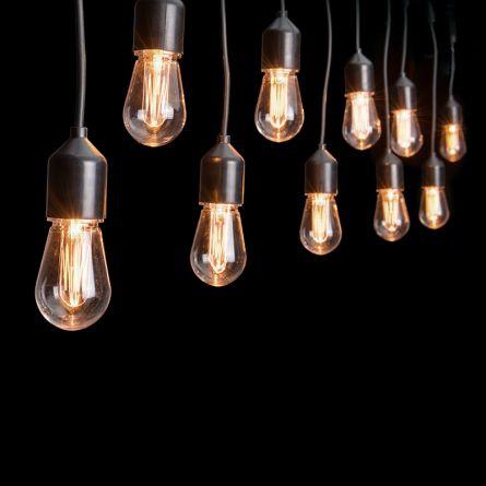 Guirlande de fête à LED «Edison»