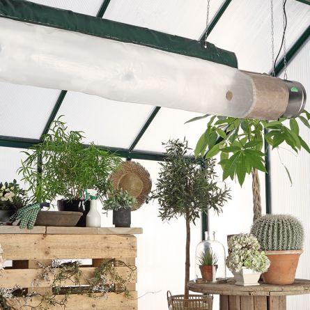 Energiesparschlauch zu Gewächshausheizung/Ventilator No. 226784/222924