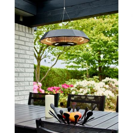 Terrassen-Heizlampe, inkl. Fernbedienung