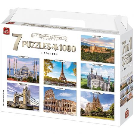 Puzzle «Miracle Europe 7 en 1»