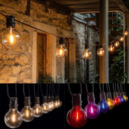 LED Partylichterkette A80 «Vintage»