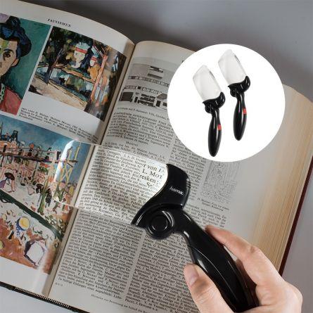 HAMA LED-Leselupe «Fold LED», 2er Set