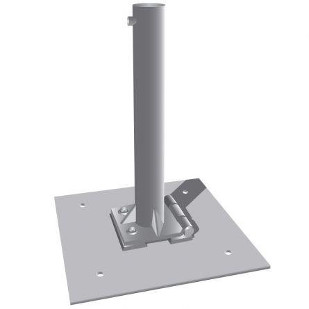 Kippvorrichtung für Flachdach inkl. Bodenplatte