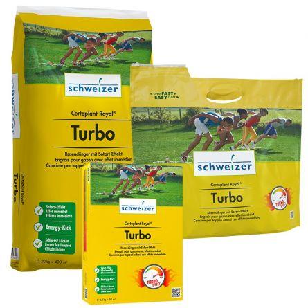 Engrais pour gazon à effet immédiat «Certoplant Royal Turbo»