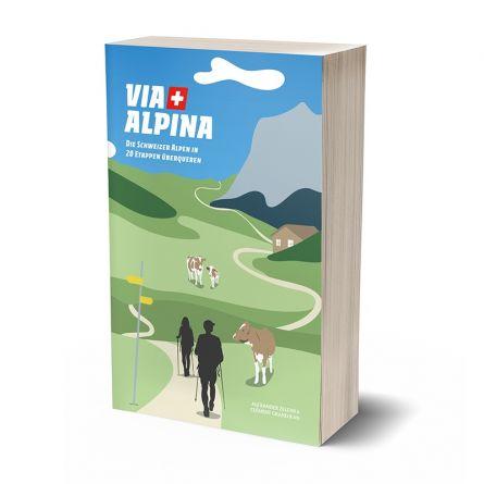Wanderbuch «Via Alpina»