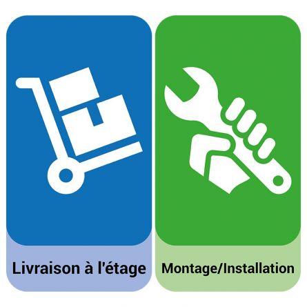 Service de transport «Livraison à l'étage incl. Montage/installation»