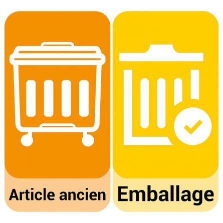 Service de transport «Reprise et élimination des articles et des emballages»