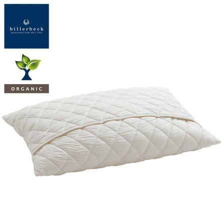 billerbeck ORGANIC Kissen Naturfaser «Organic Wool», 50×70 cm