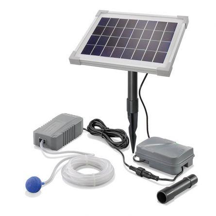 Dispositif solaire d'aération pour bassins de jardin « Professional»