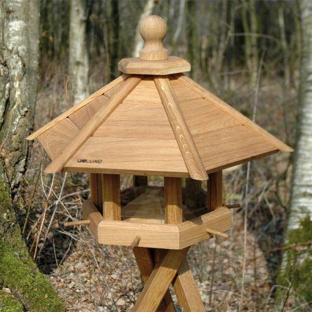 Mangeoire pour oiseaux «Big atterrissage», trépied incl.