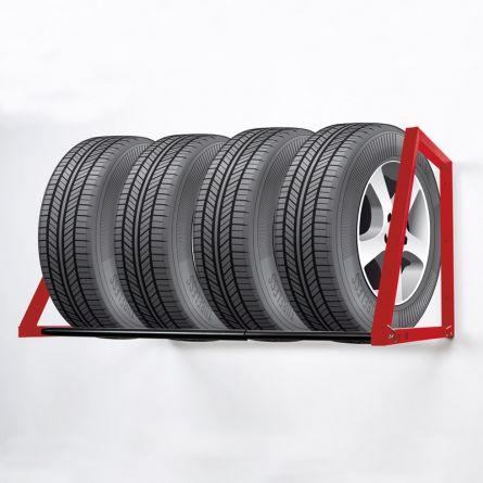 TEDURA Etagère murale pour pneus de voiture