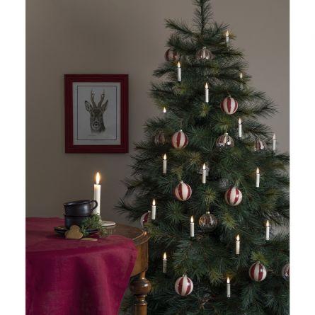LED Baumbeleuchtung «Candle», kabellos, 12 Stück